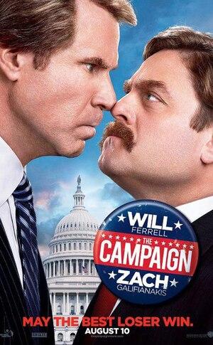 The Campaign, Will Ferrell, Zach Galifianakis