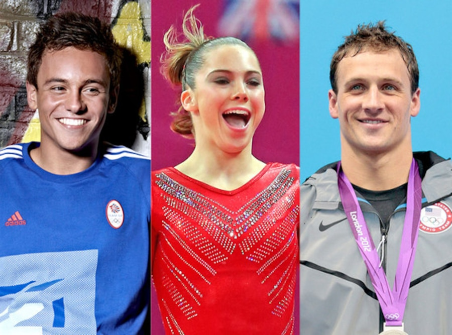 Tom Daley, McKayla Maroney, Ryan Lochte