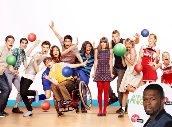 50 Cent, Glee
