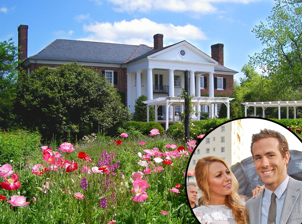 La Plantation Boone Hall From Mariage De Blake Lively Et