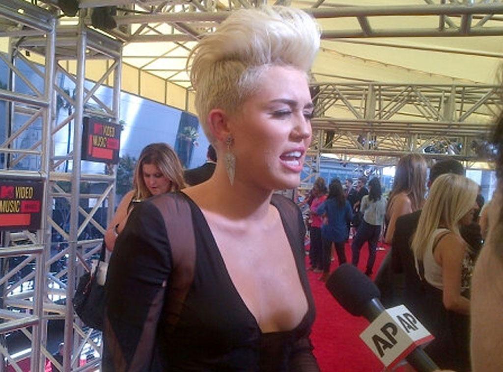 MTV VMA's Twit Pic