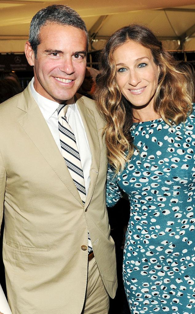 Andy Cohen, Sarah Jessica Parker