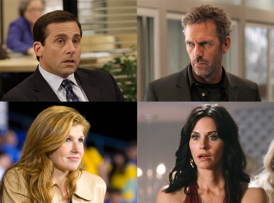 Courteney Cox, Hugh Laurie, Connie Britton, Steve Carell