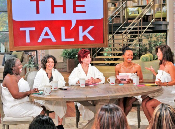 The Talk, Sheryl Underwood, Sara Gilbert, Sharon Osbourne, Aisha Tyler, Julie Chen