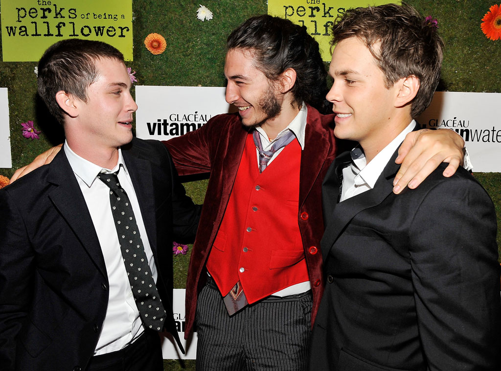 Logan Lerman, Ezra Miller, Johnny Simmons