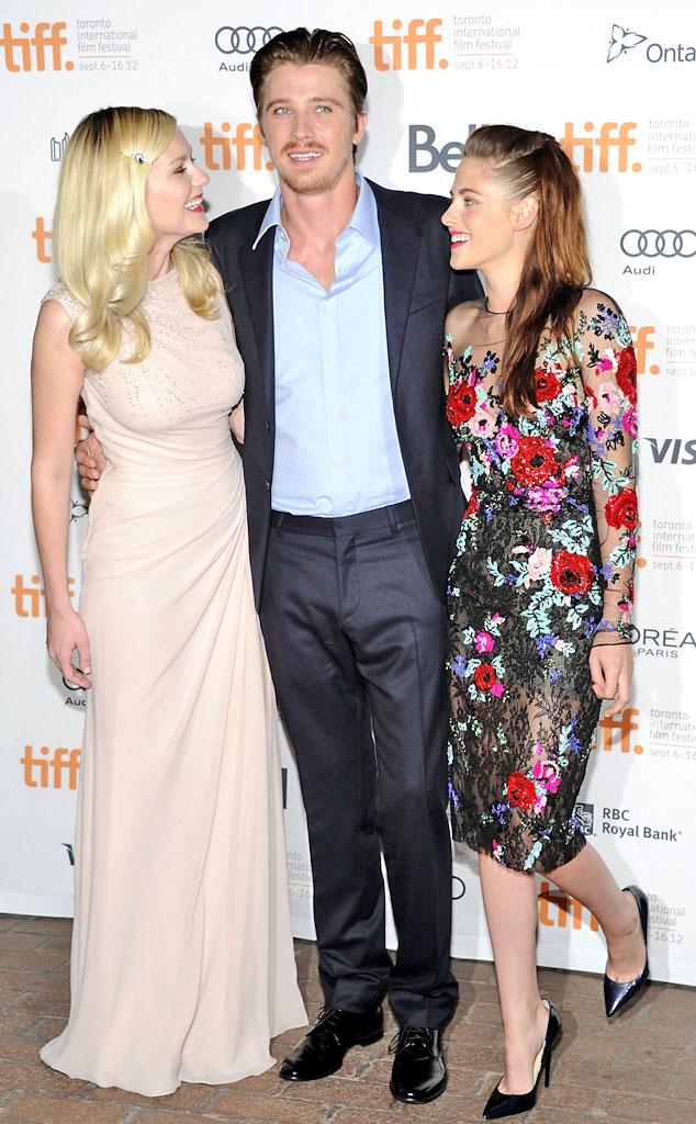 Kirsten Dunst, Garrett Hedlund, Kristen Stewart