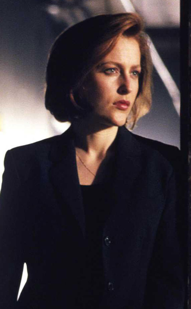Gillian Anderson, X-Files