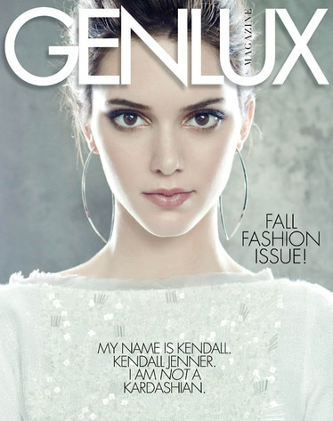 Kendall Jenner, Genlux Magazine