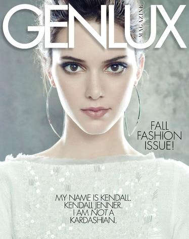 Kendall Jenner, Genlux Magazine
