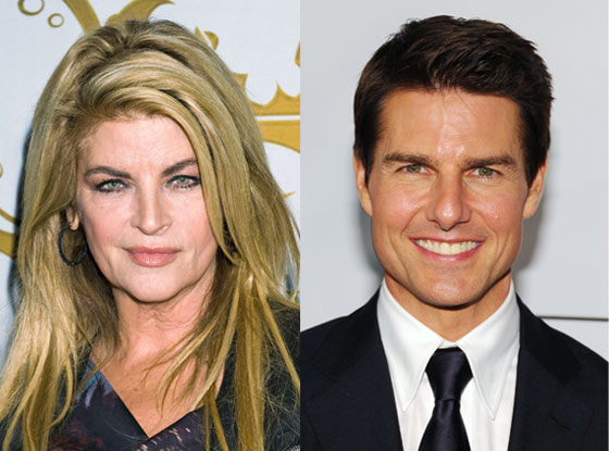 Kirstie Alley, Tom Cruise