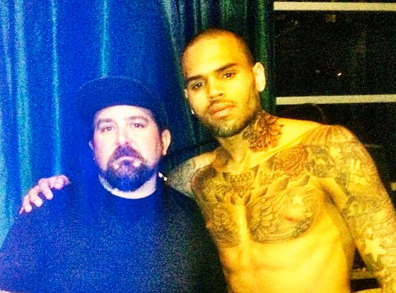 Chris Brown, Tattoo artist