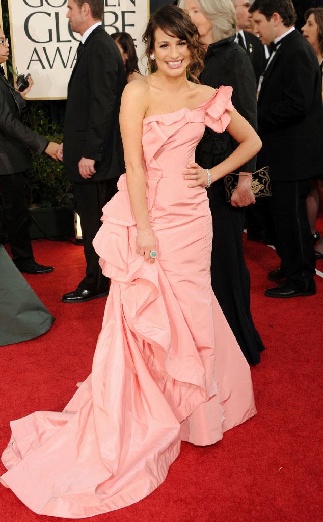 Lea Michele, Oscar de la Renta