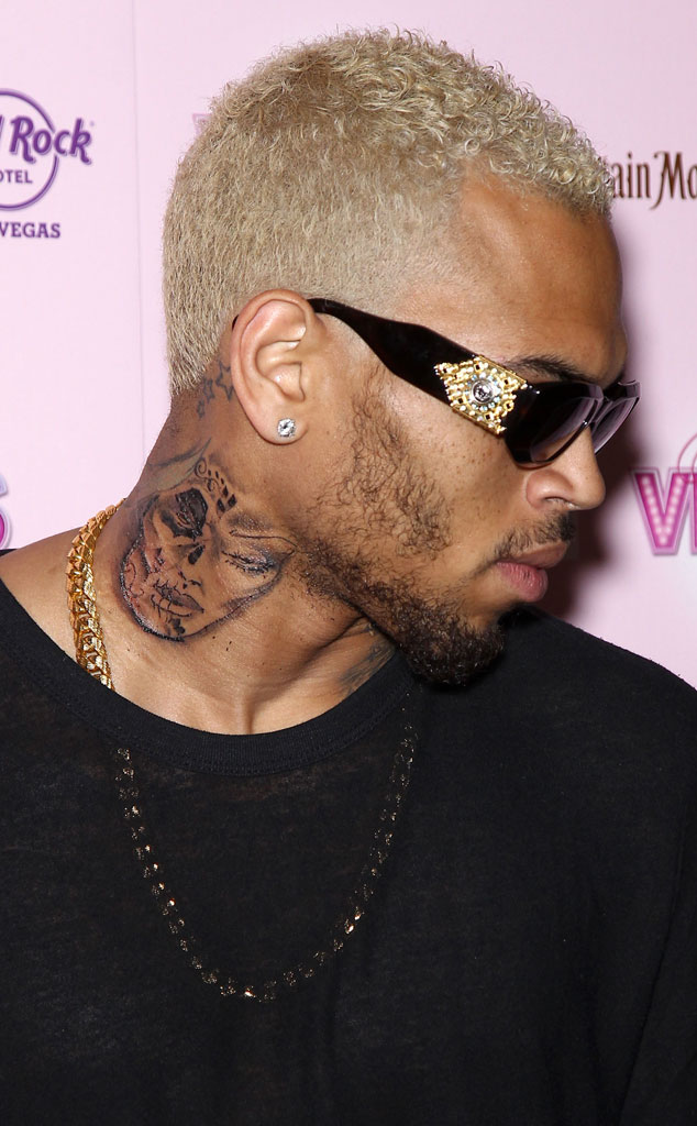 Chris Brown Tattoo, Drawing