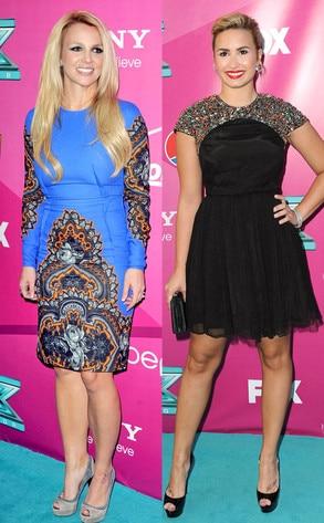 Britney Spears, Demi Lovato
