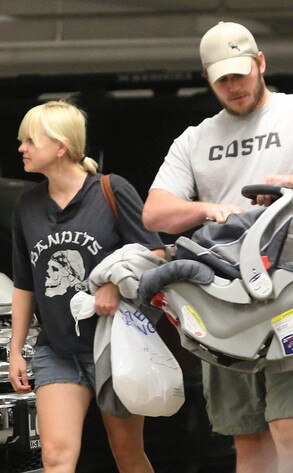 Anna Faris, Chris Pratt