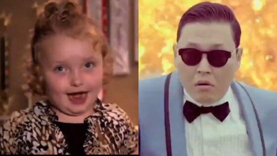 Honey Boo Boo, Gangnam, Style mashup