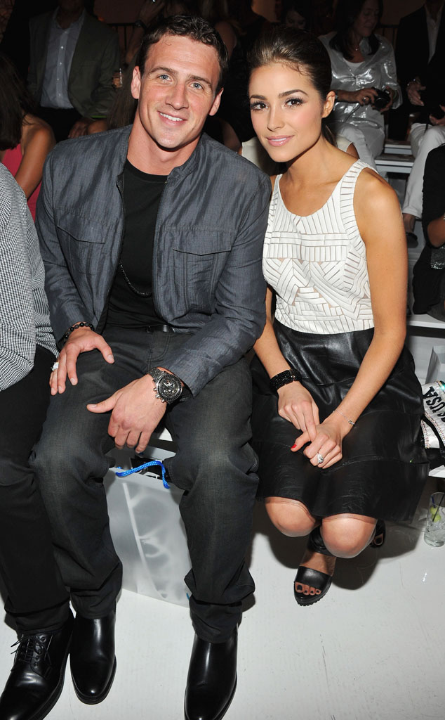Olympic Swimmer Ryan Lochte, Miss USA Olivia Culpo