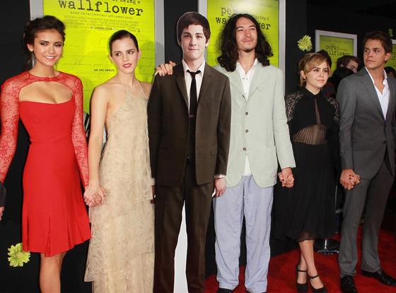 Nina Dobrev, Emma Watson Ezra Miller, Mae Whitman, Johnny Simmons