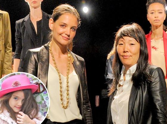 Katie Holmes, Jeanne Yang, Suri Cruise