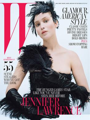 Jennifer Lawrence, W Magazine Cover