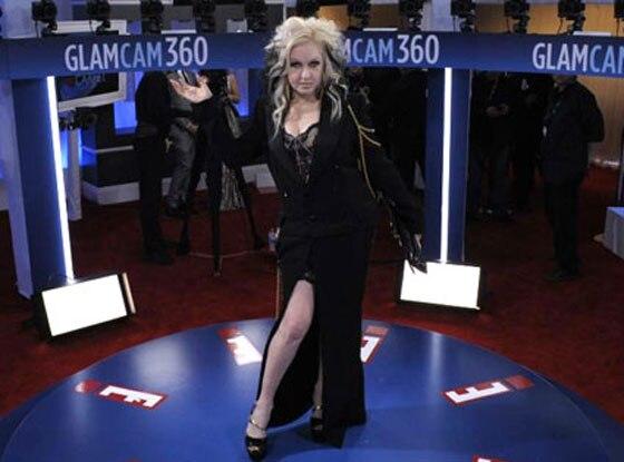 Cyndi Lauper, Glam Cam, 2012 Grammy