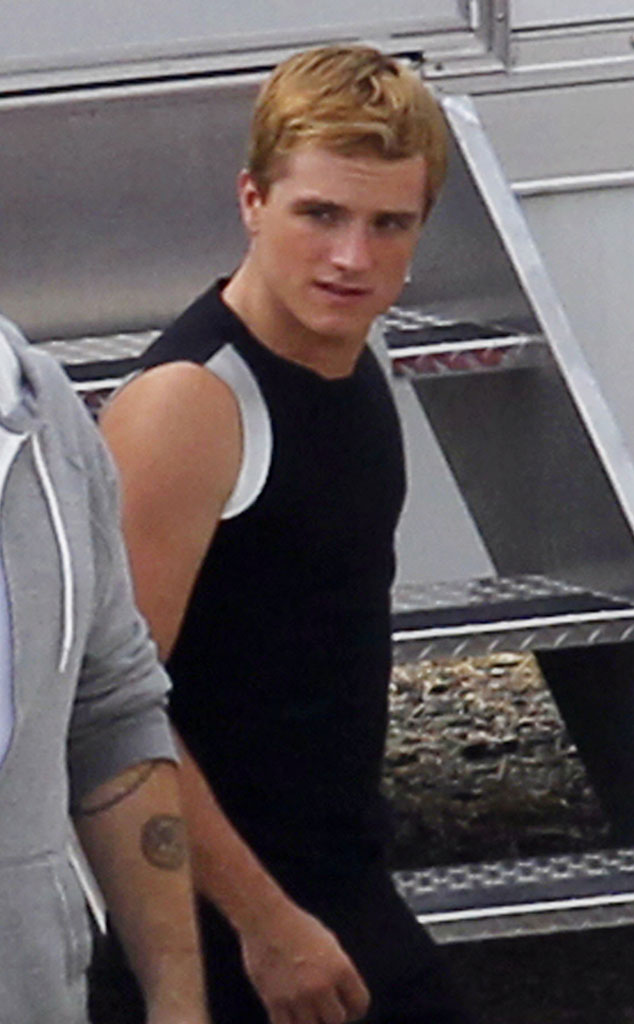 Josh Hutcherson, Catching Fire Hunger Games Set