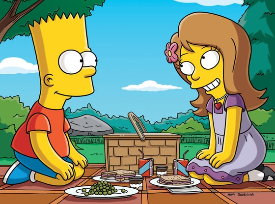 Anne Hathaway, The Simpsons
