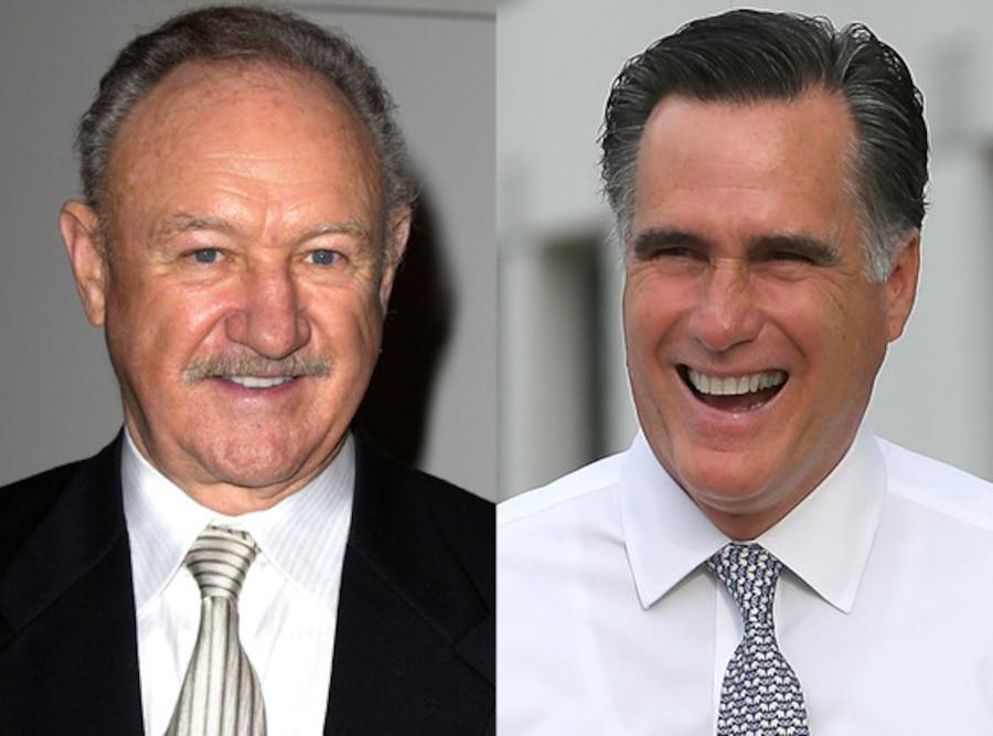 Gene Hackman, Mitt Romney