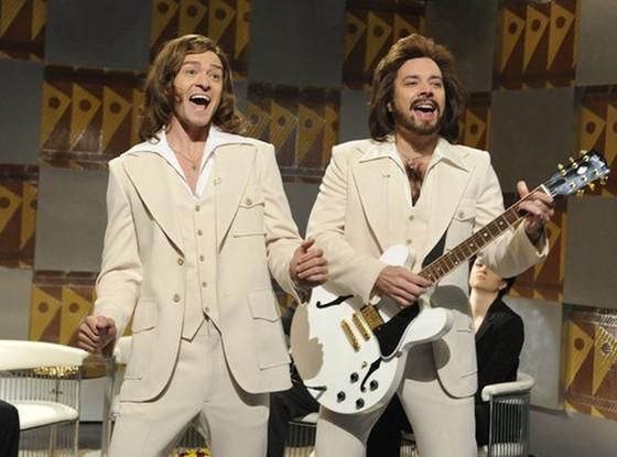Robin Gibb, Barry Gibb, Bee Gees, Jimmy Fallon, Justin Timberlake