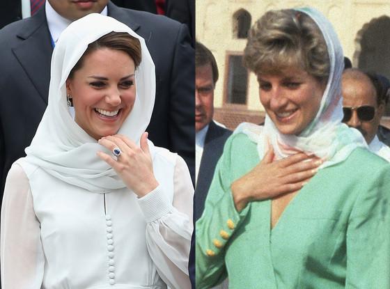 Duchess Catherine, Kate Middleton, Princess Diana