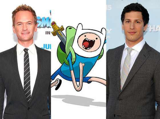 Neil Patrick Harris, Scene from ADVENTURE TIME, Andy Samberg