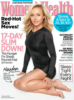 Hayden Panettiere, Women's Health
