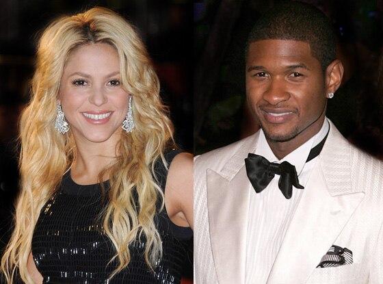 Usher, Shakira