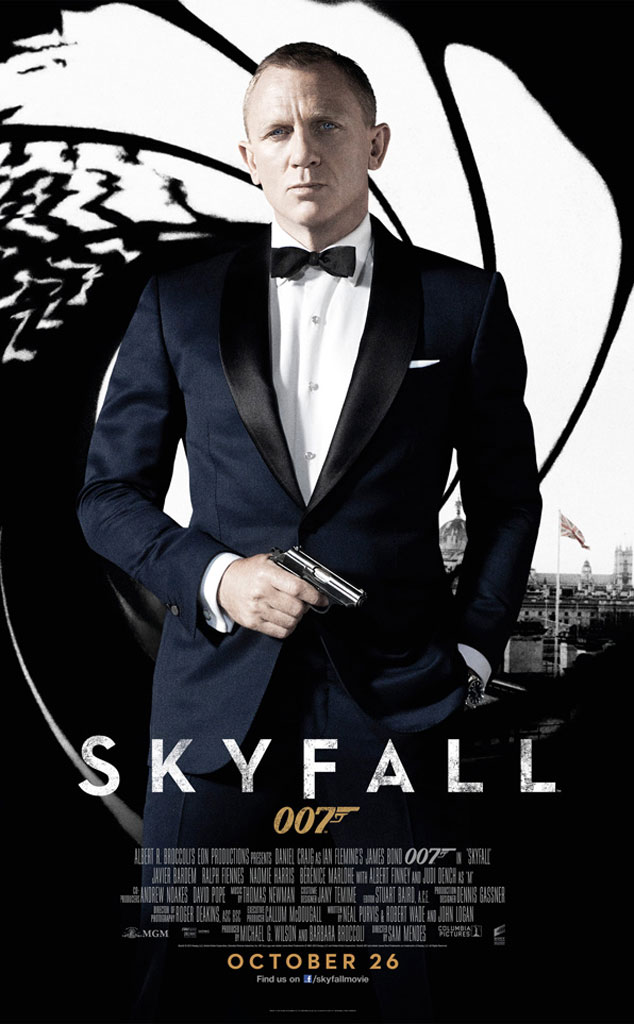 Daniel Craig, Skyfall Poster