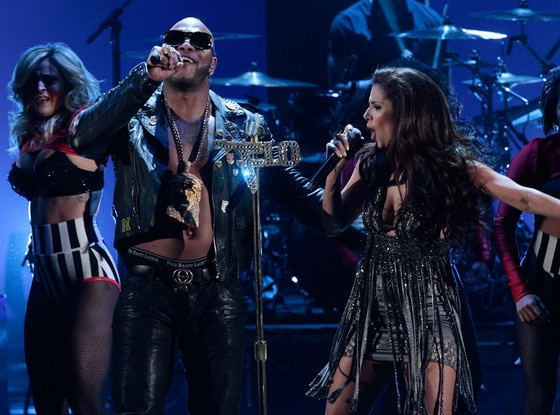 Flo Rida, Rosalyn Sanchez, Alma Awards