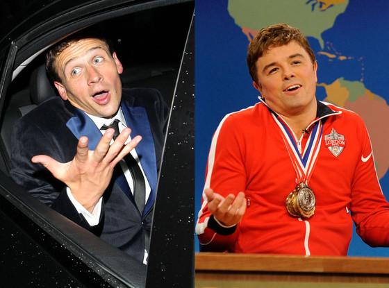 Seth MacFarlane, SNL, Ryan Lochte