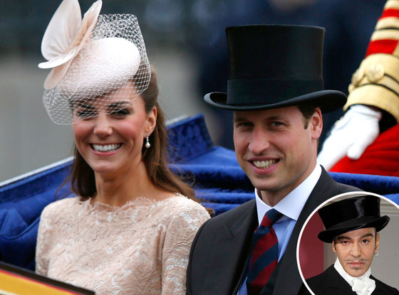Catherine, Duchess of Cambridge and Prince William, Duke of Cambridge, John Galliano