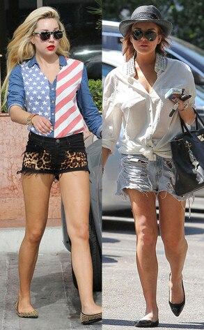 Amanda Bynes, Lindsay Lohan