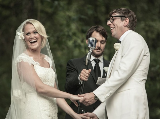 Emily Ward, Patrick Carney, Will Forte, Wedding