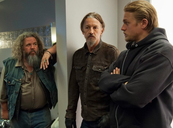 Mark Boone Junior, Tommy Flanagan, Charlie Hunnam, Sons of Anarchy
