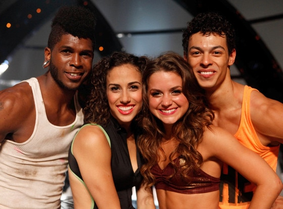 Cyrus Spencer, Eliana Girard, Tiffany Maher, Chehon Wespi-Tschopp, So You Think You Can Dance