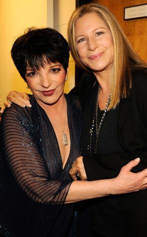 Liza Minnelli, Barbra Streisand
