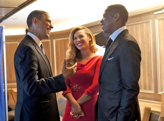 Barack Obama, Jay-Z, Beyonce