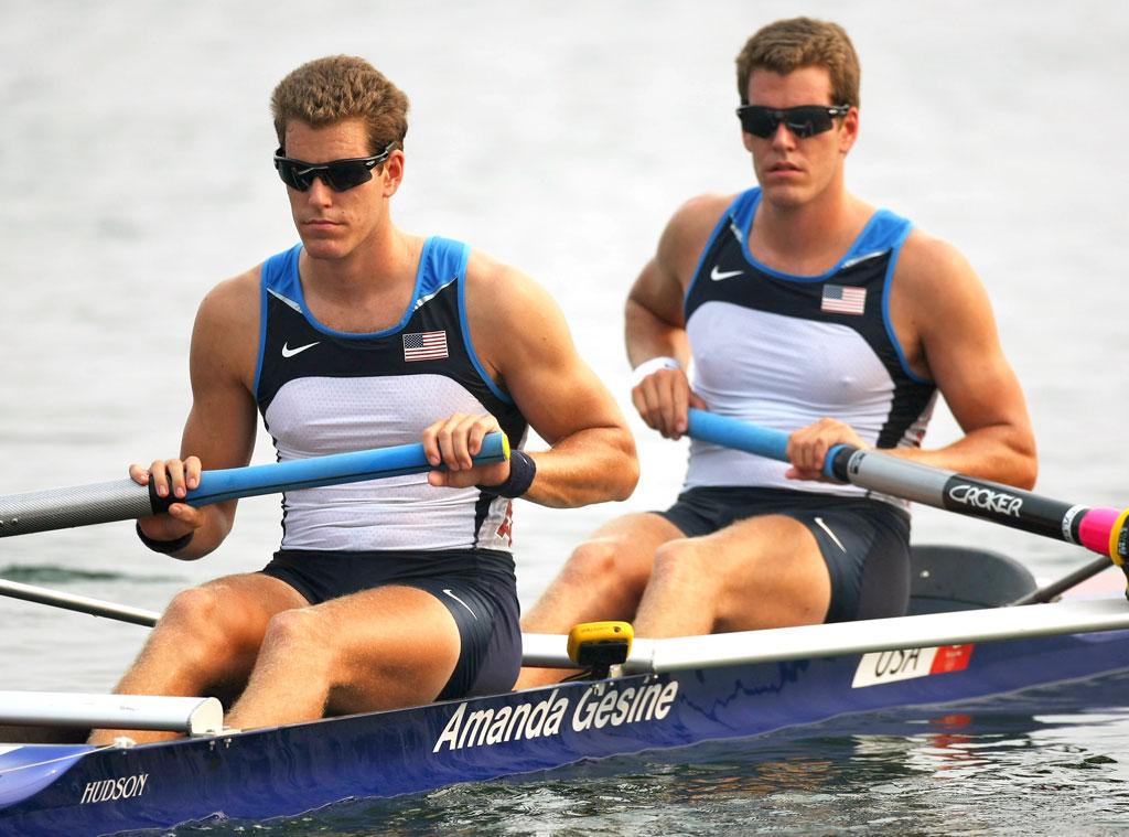 Awesome Olympians, Tyler Winklevoss, Cameron Winklevoss