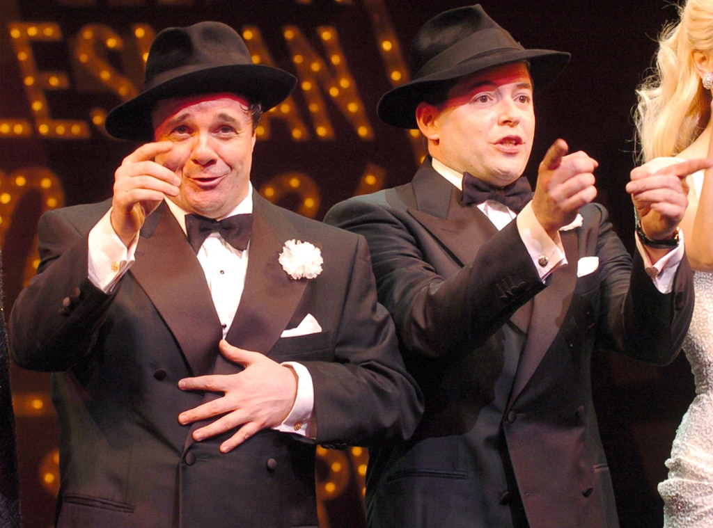Nathan Lane, Matthew Broderick, The Producers, Broadway