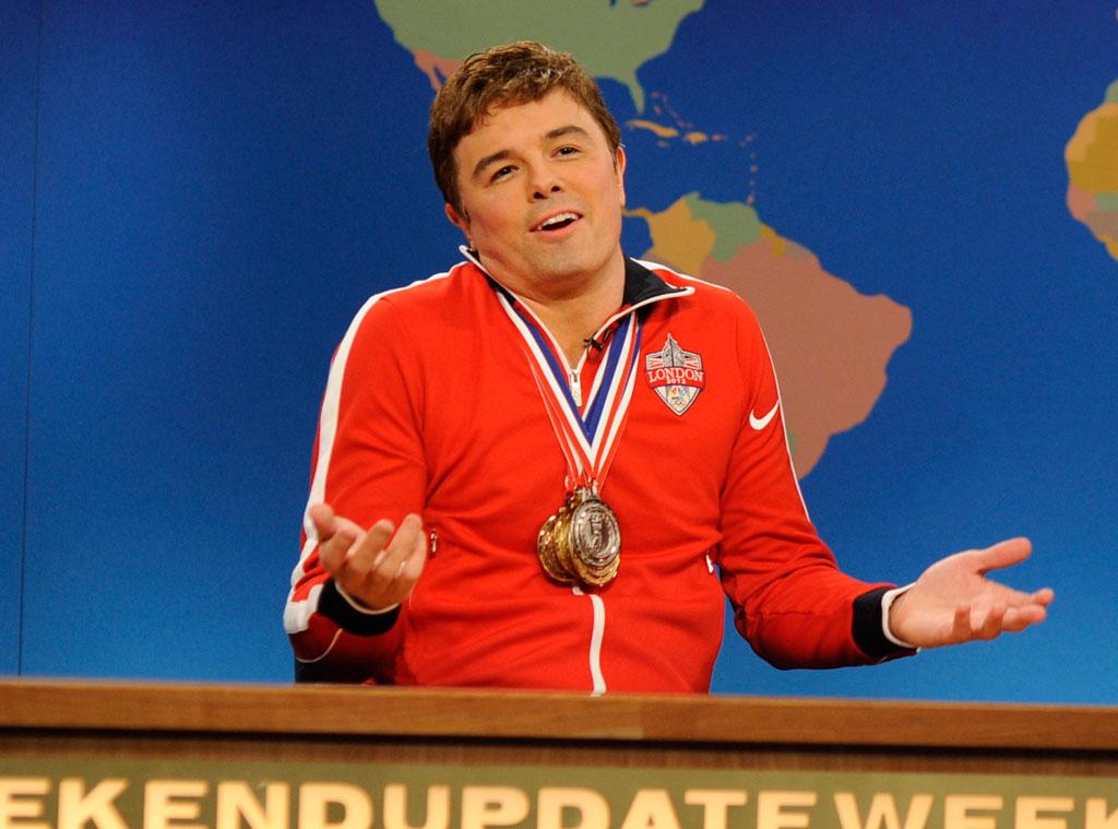 Seth MacFarlane, Ryan Lochte, SNL
