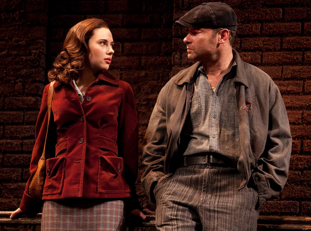 Scarlett Johansson, Liev Schreiber, A View From The Bridge, Broadway