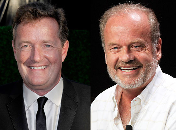 Piers Morgan, Kelsey Grammer