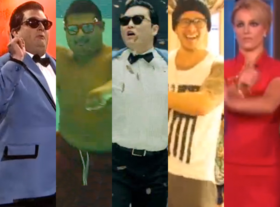 PSY, Gangam Style, Videos