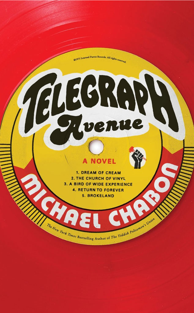 Michael Chabon, Telegraph Avenue, Book Cover